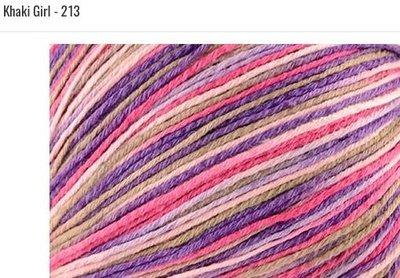 Bamboo Pop Yarn 213 Knaki Girl