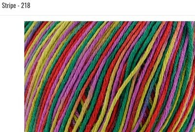 Bamboo Pop Yarn 218 Stripe
