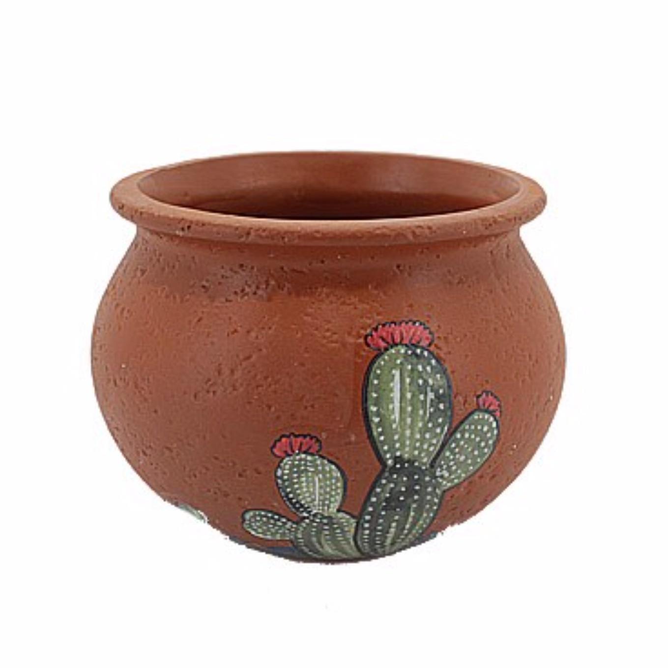 Terracotta Cactus Pot 10cm CP89079