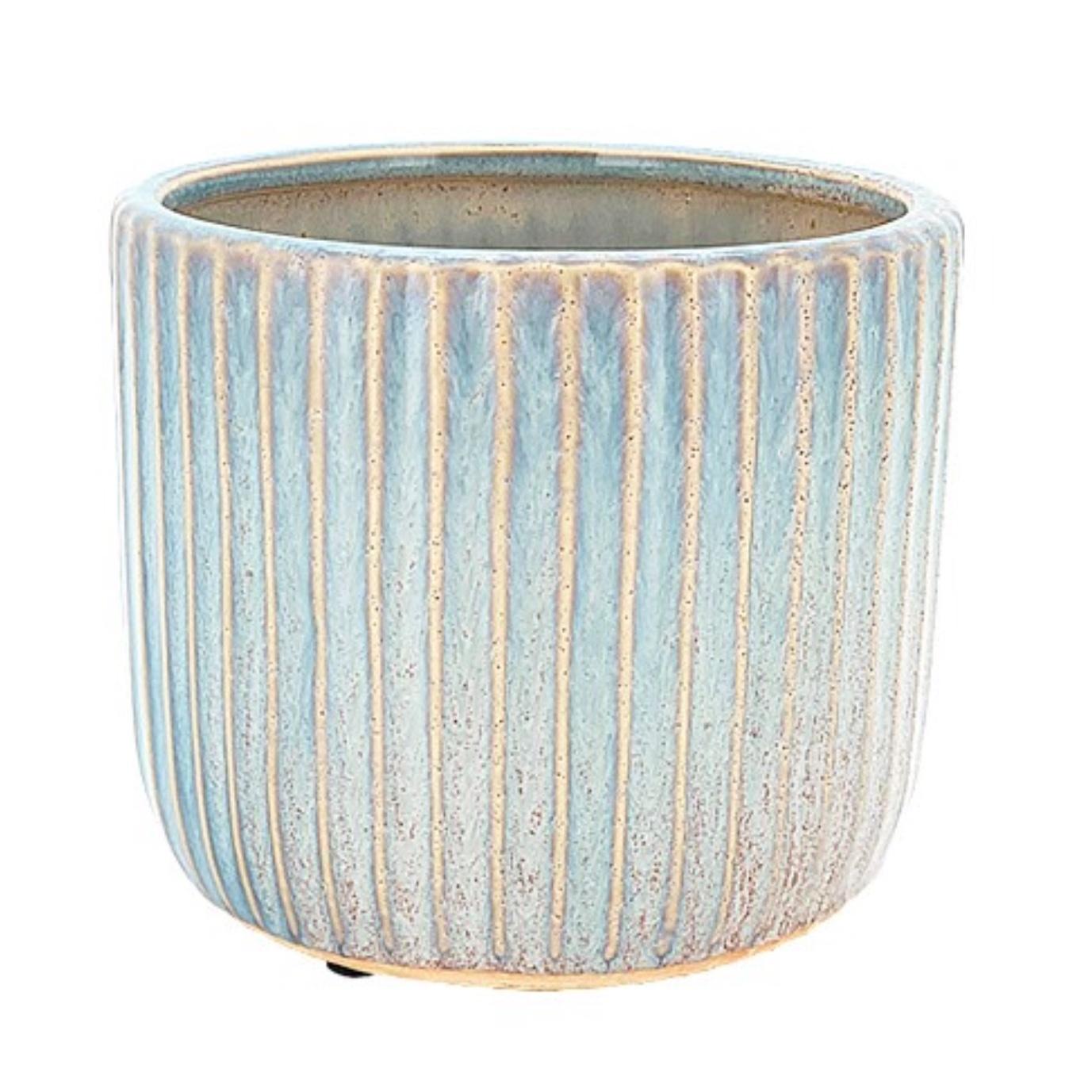 Translucent Skinny Ribbed Pot 13cm CP100736S