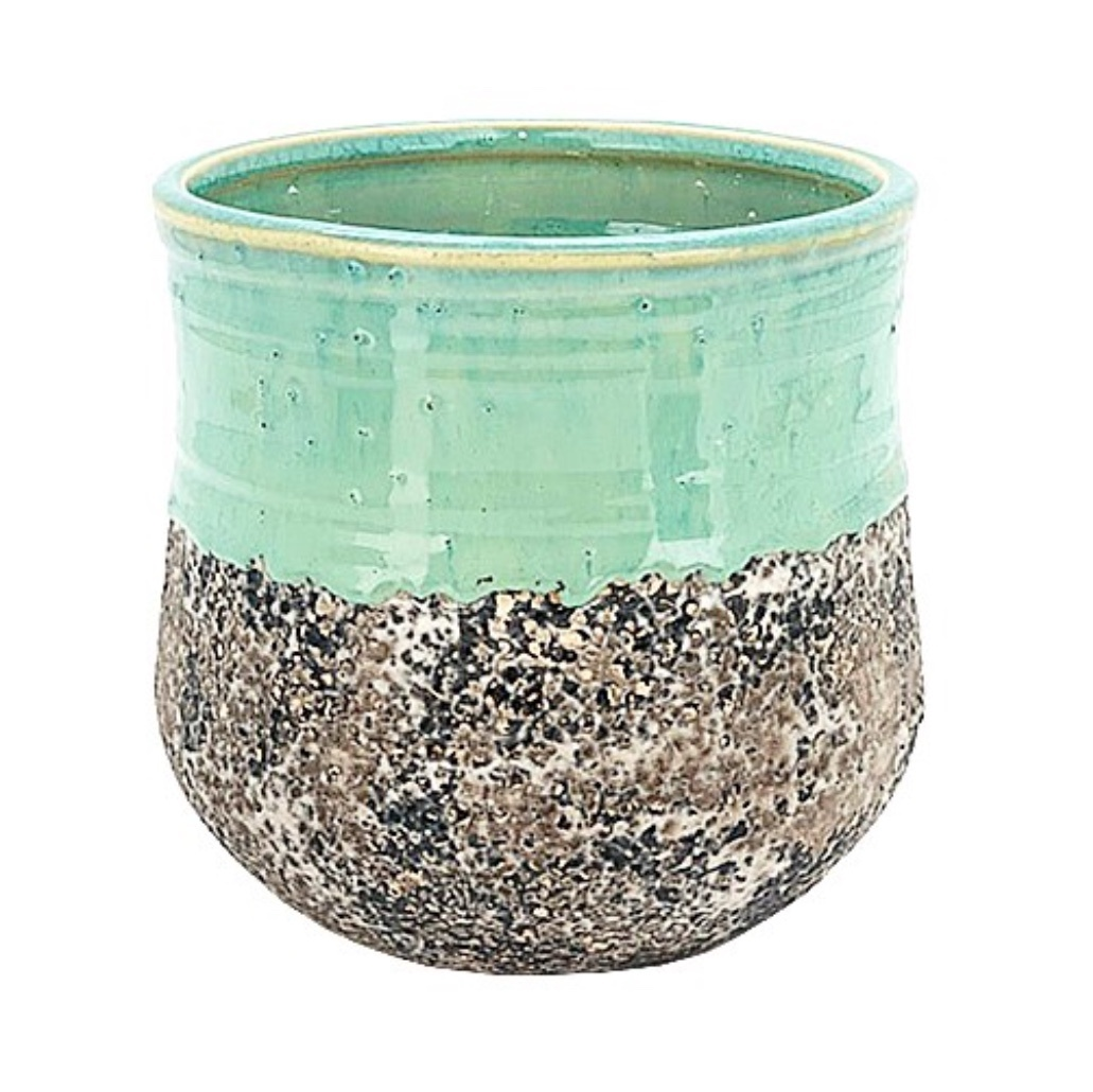 Turquoise Bell Pot 14cm CP100668S