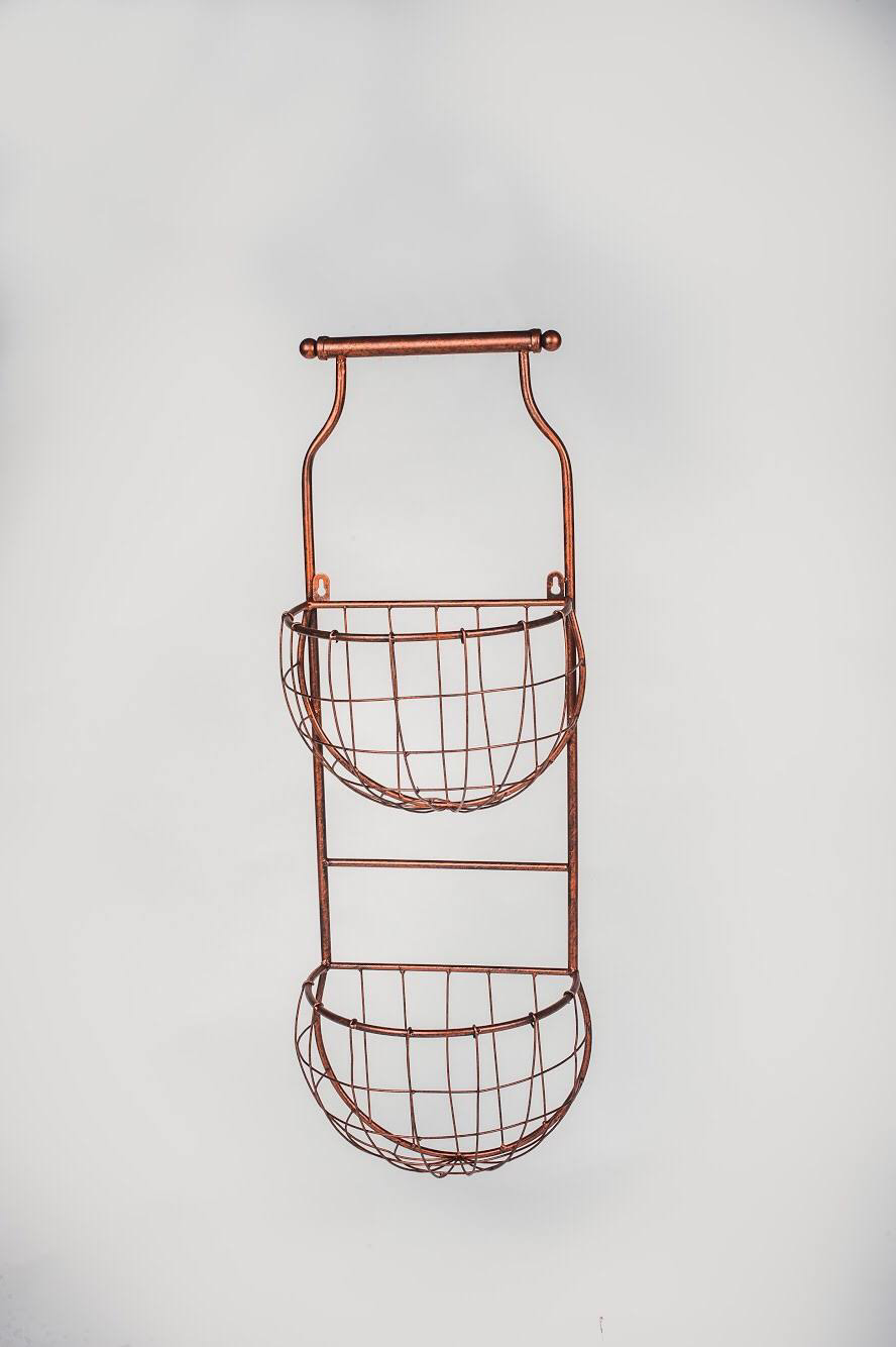TWO TIER POT STAND WALL