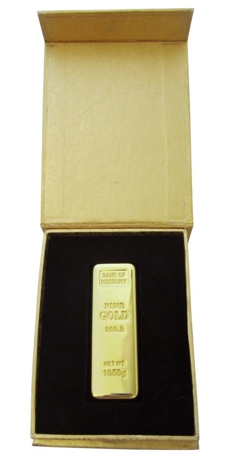 GOLD BAR USB 4GB (GOLD BOX) USB012B