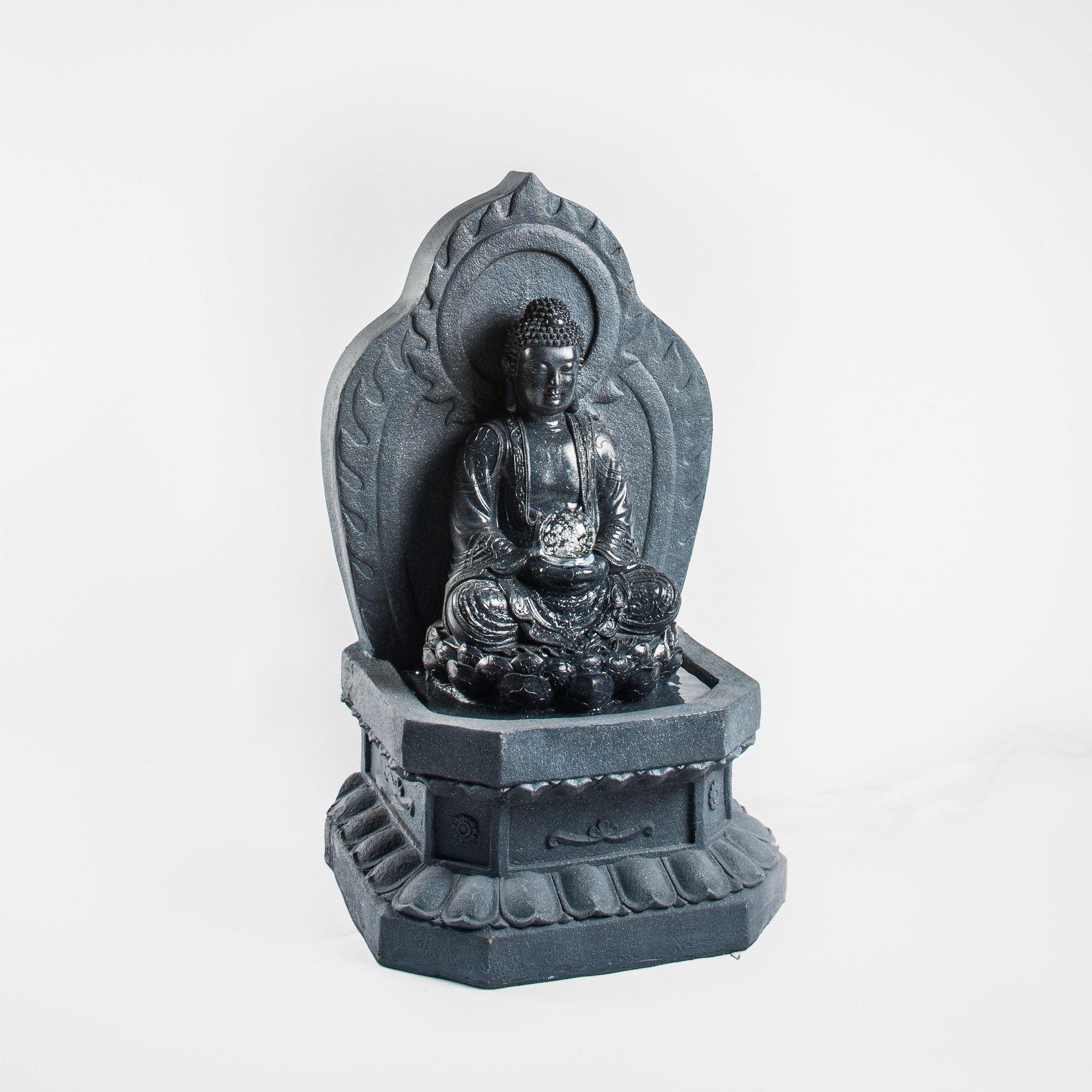 Sitting Buddha with Ball DW10032-1