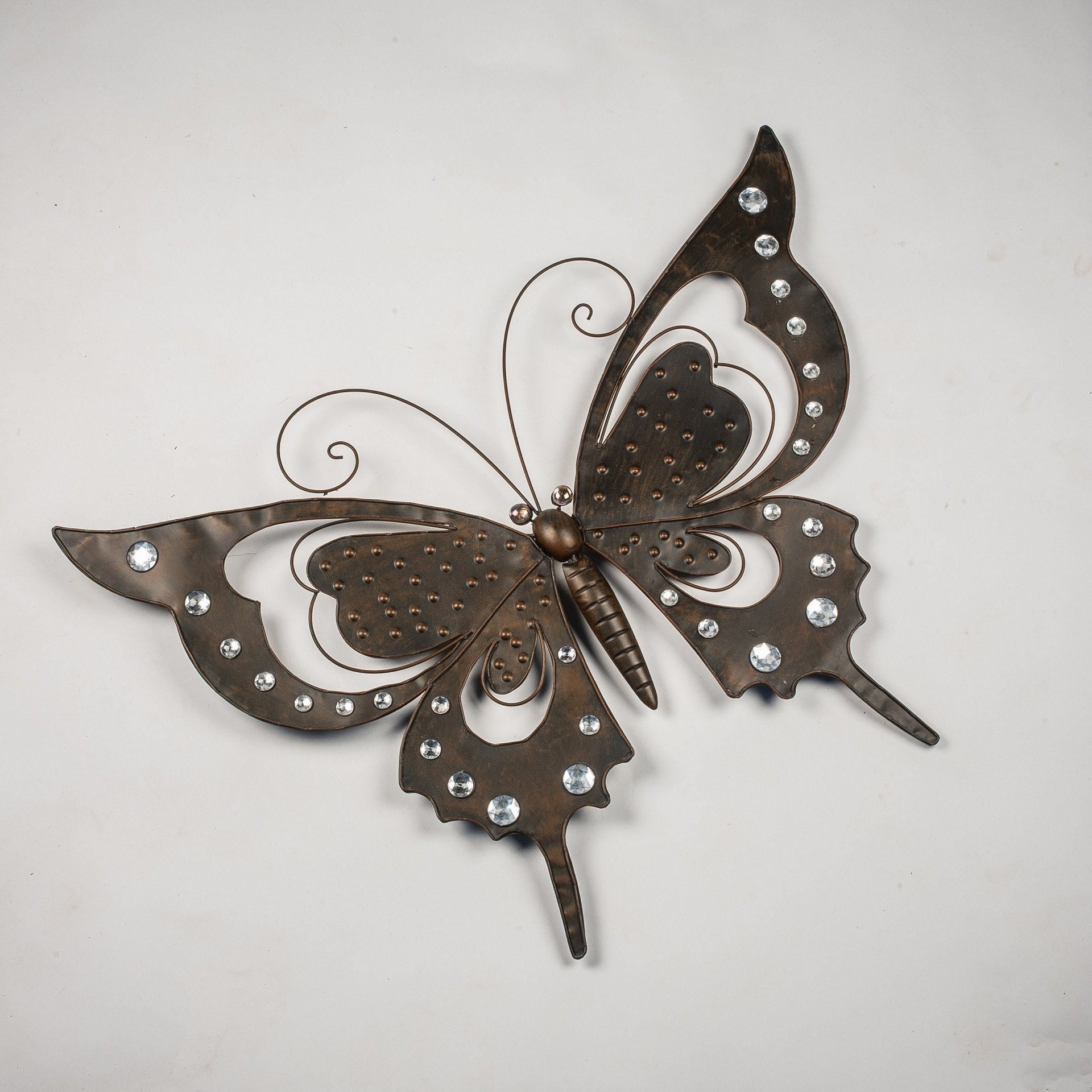 BUTTERFLY WITH DIAMONDS 12B0702