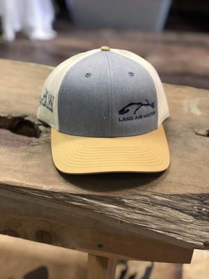 Fish- Jean/mustard (trucker)