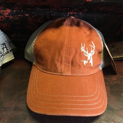 Deer Side Rustic Orange/Khaki (soft)