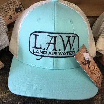 LAW Turquoise/Khaki (trucker)