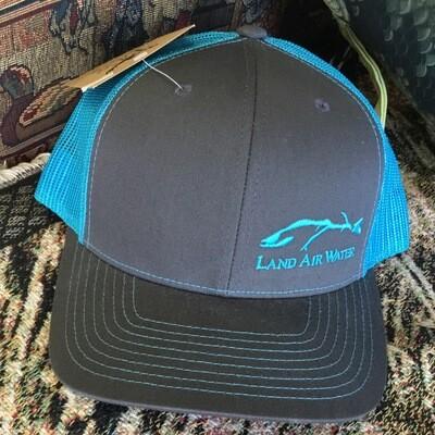 Fish Side Grey/blue (trucker)