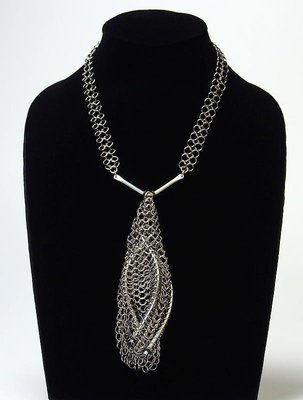 Stainless Steel Cocoon Necklace