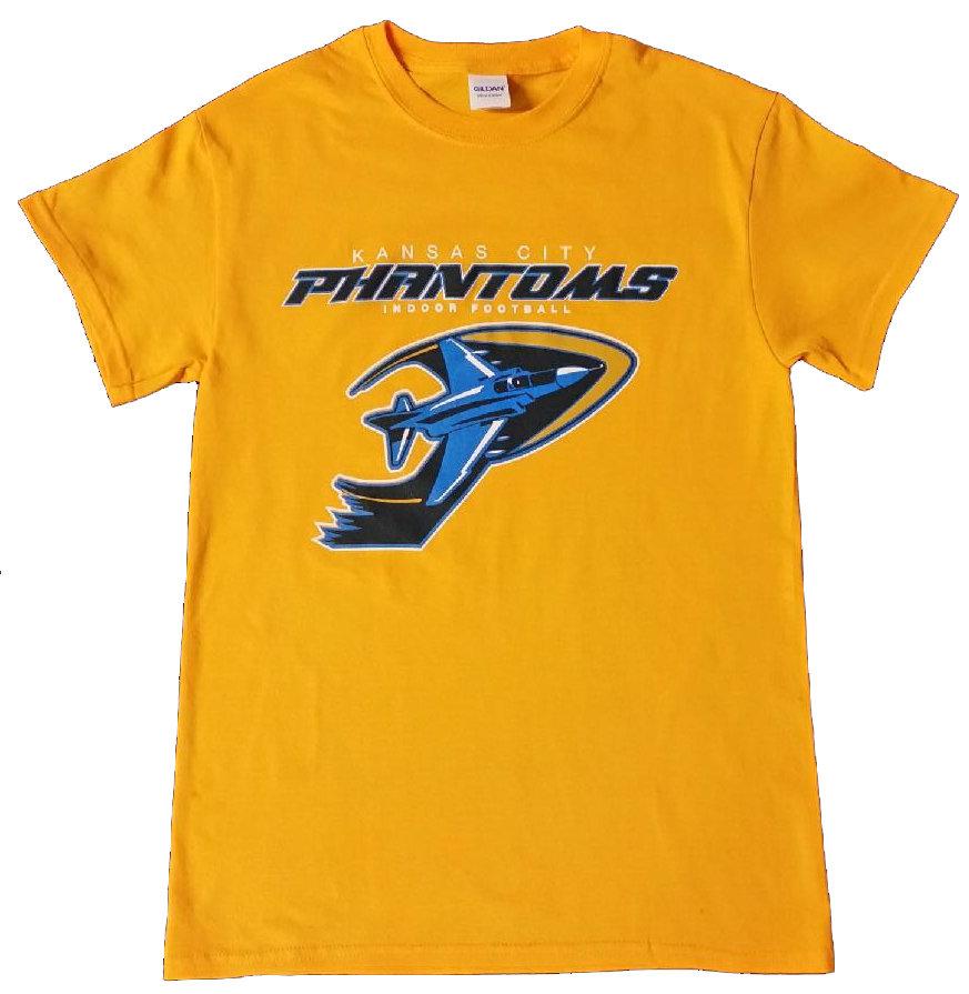 Phantoms Full LOGO Gold T-shirt
