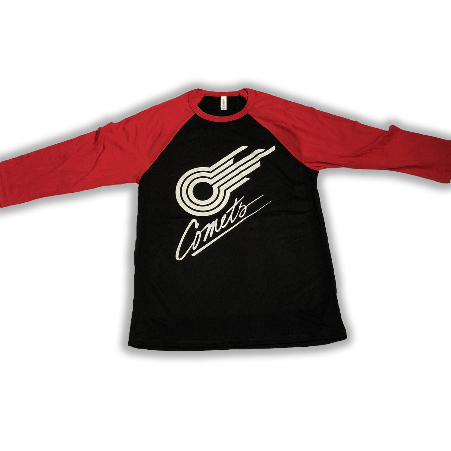 3/4 Sleeve Red/Black