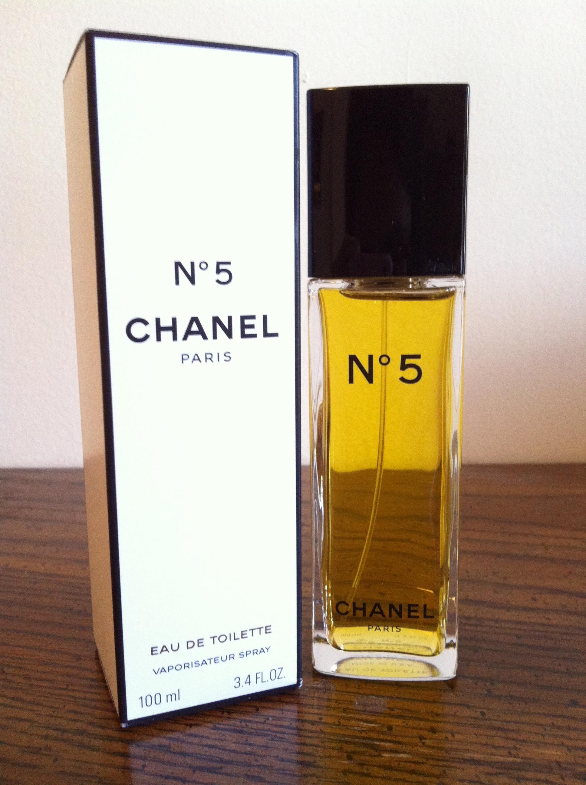 684211be30 Chanel No.5 Eau De Toilette 3.4 Oz