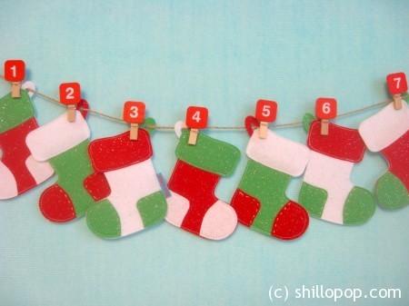Мемори Новогодние носочки