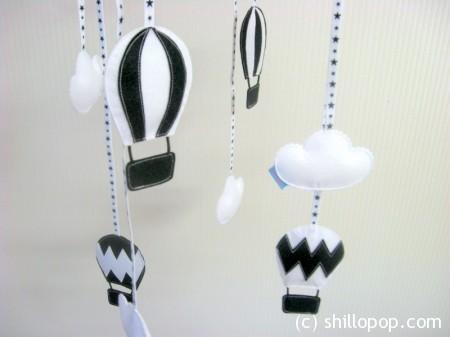 Мобиль Воздушные шары