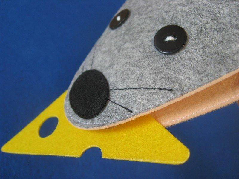 Мышка - игрушка на руку