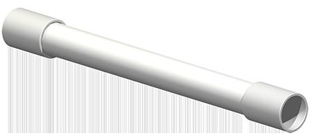 """Effluent Discharge - SCH40 - External Flexible Extension - 1.25"""""""