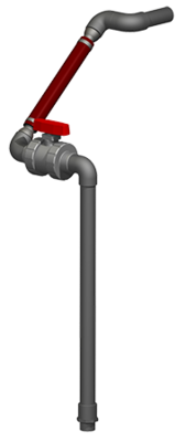 Effluent Discharge - SCH80 - Drain Back - 2