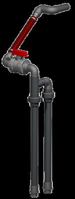 Effluent Discharge - SCH80 - Drain Back - 1.25