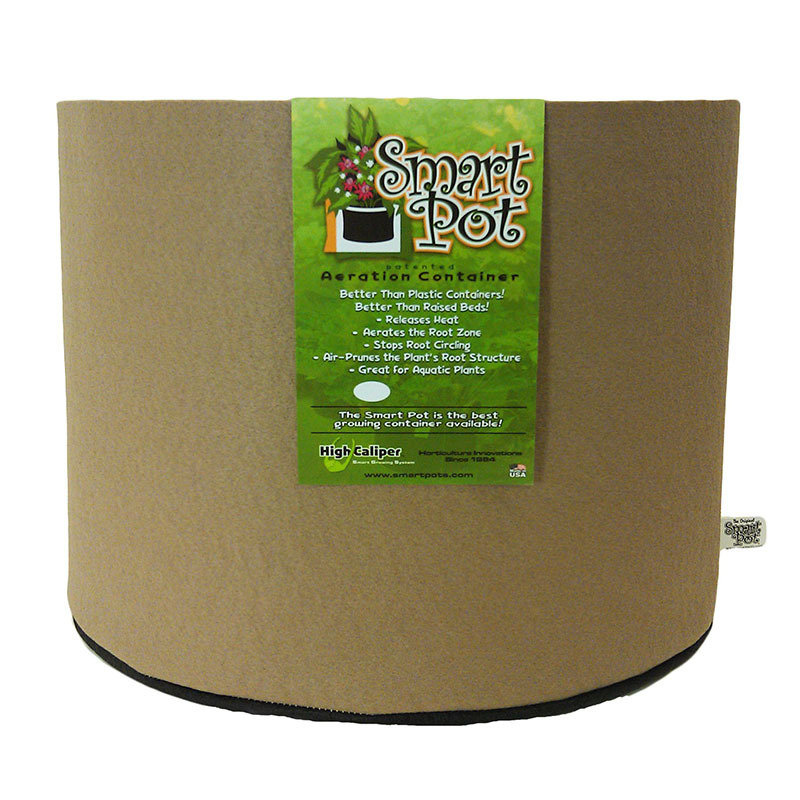 SmartPot | Aeration Container | Porous Garden Pot| Raised Planter | Breathable Plant Container| Hydroponic Gardening| 200 Gallon |Tan