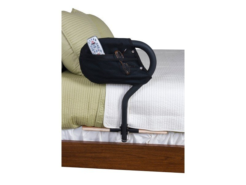 Bed Cane | Reversible Bed Rail | Support Handle | Low Profile Bed Handle |Stander