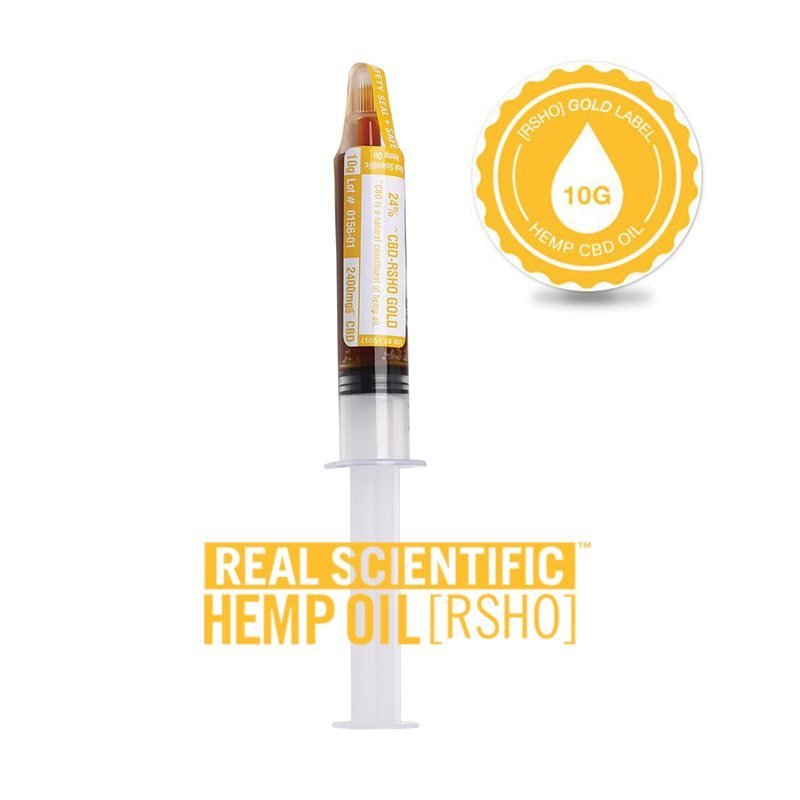 CBD Hemp Oil | Oral Concentrate | Gold Label RSHO | 10g Applicator | Hemp Oil Concentrates | Pure Hemp Oil