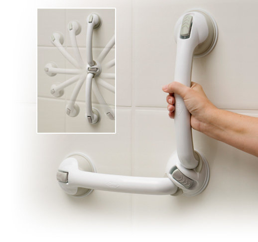 Safe-er-Grip Swivel | Shower Grab Bar | Bathtub Grab Bar | Easy to Install
