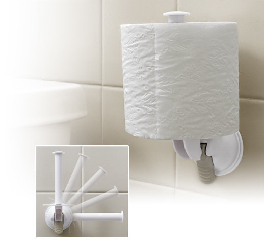Toilet Paper Holder | Moveable Toilet Paper Holder |Relocatable |