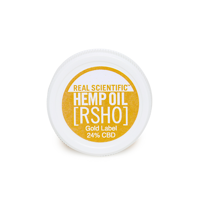 Gold Label RSHO | Clean Filtered | 240 mg Full Spectrum CBD | 1 oz