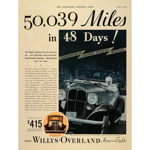 Willys-Overland Racing Car
