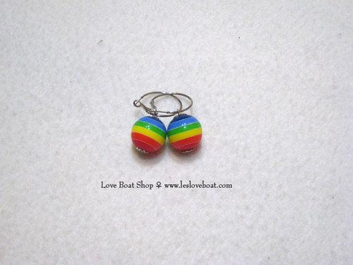 圈內設計師款-配色彩虹球/單顆 (一對)