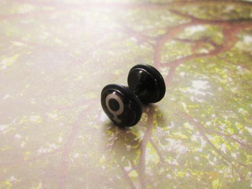 美國進口精品-女生符號耳骨環