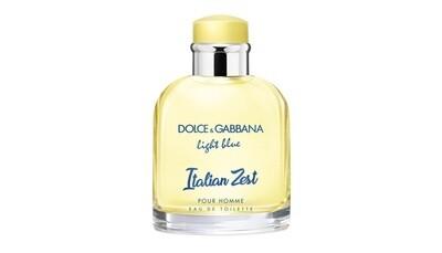 DOLCE & GABBANA LIGHT BLUE ITALIAN ZEST 125 мл