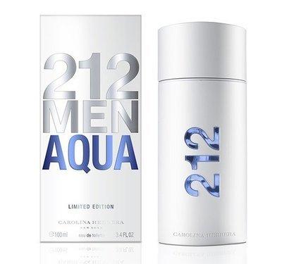 Carolina Herrera 212 Men Aqua Limited Edition