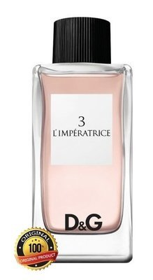 DOLCE & GABBANA 3 L`IMPERATRICE 100 мл
