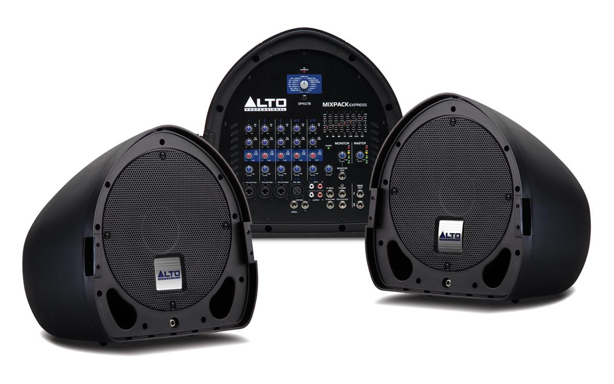 Мобильный звукоусилительный комплект Alto MIXPACK express