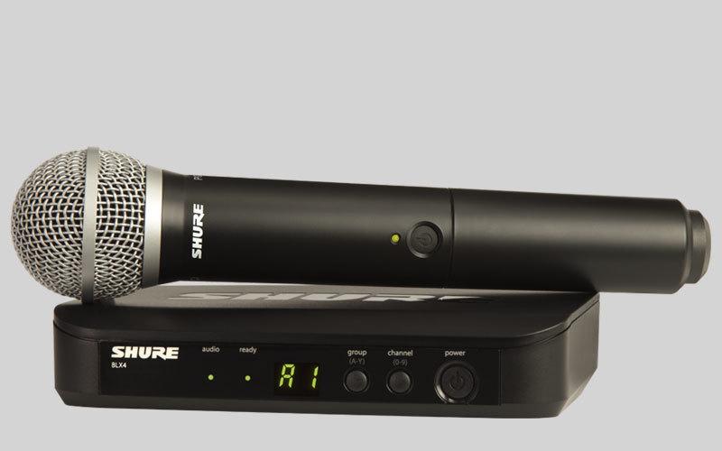 Вокальная радиосистема SHURE BLX24E/PG58 M17