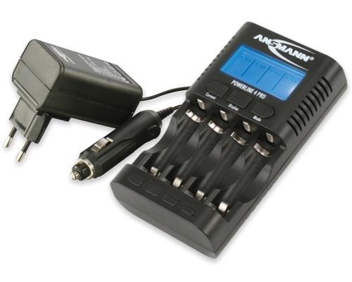 Зарядное устройство ANSMANN 1001-0005 Powerline 4 PRO