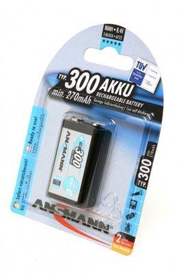 Аккумулятор ANSMANN 5035453 maxE E-Block 300  BL1