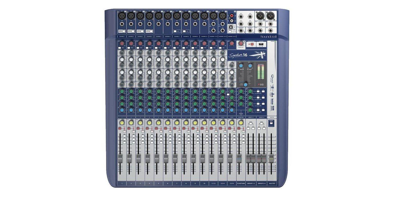 SOUNDCRAFT SIGNATURE 16 аналоговый микшерный пульт