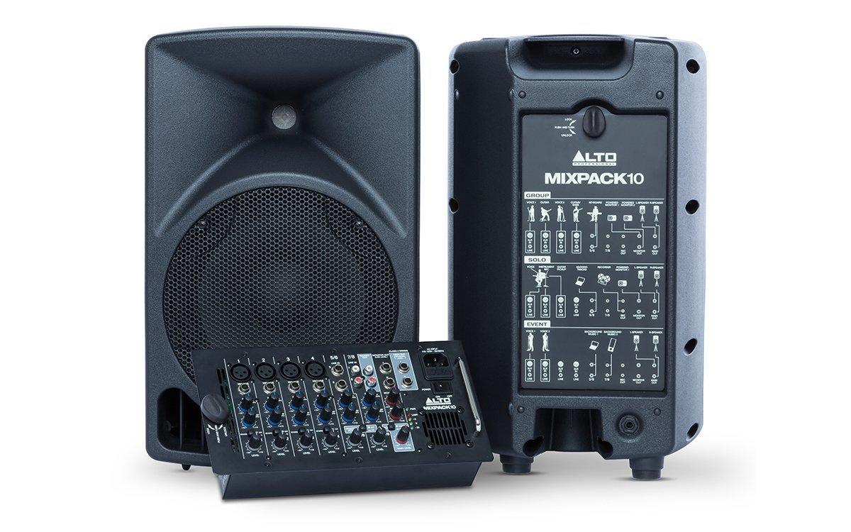 ALTO MIXPACK 10 мобильный звукоусилительный комплект