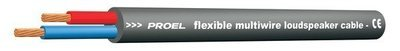 PROEL HPC610BK Колоночный кабель, 2 жилы по 1,5 мм2