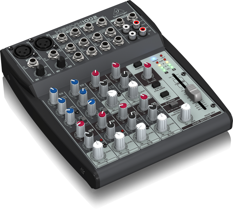 Behringer 1002 аналоговый микшер 10 каналов