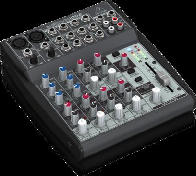 Behringer 1002FX аналоговый микшер, 10 каналов