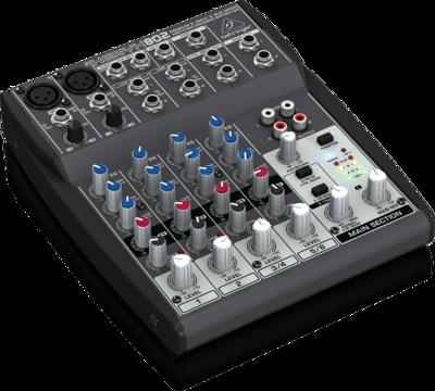 Behringer 802 аналоговый микшер, 6 каналов