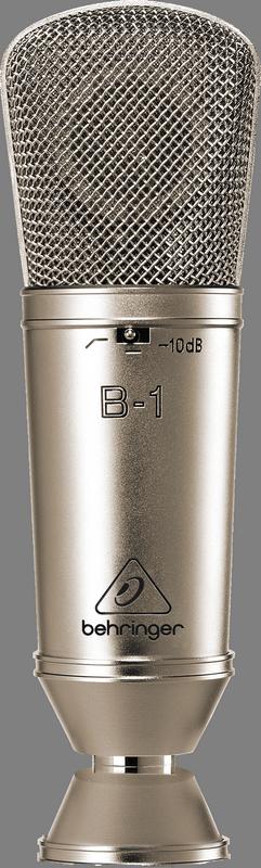"""Behringer B-1 кардиоидный конденсаторный микрофон с диафрагмой 1"""""""