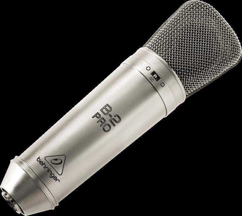 """Behringer B-2 PRO конденсаторный микрофон с диафрагмой 1"""""""