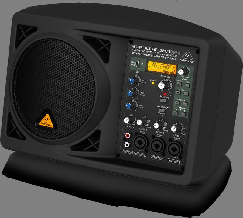Behringer B207MP3 активная акустическая мини-система/монитор