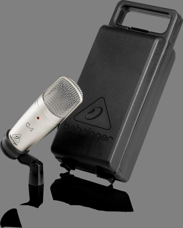 Behringer C-1 микрофон студийный конденсаторный кардиоидный