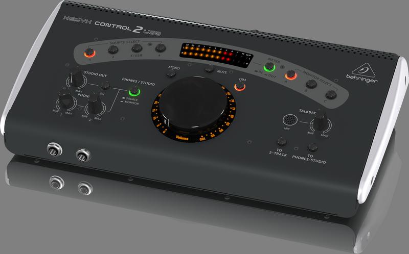 Behringer CONTROL2USB студийный контроллер для мониторов